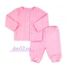Комплект велюровый К 2359/нежно-розовый2