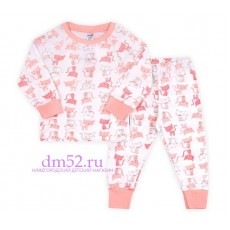 Пижама для девочки К 1519/кошки на сахаре
