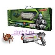 Лазерный бой с роботом жуком Taiko R0110