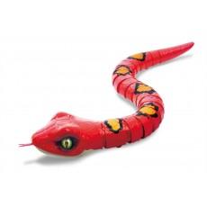 Игрушка Робо-змея RoboAlive Красная Т10996