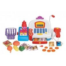 Игровой набор Girls club Супермаркет со сканером и микрофоном IT101386