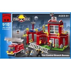"""Конструктор Brick """"Пожарная станция"""" 466 деталей"""