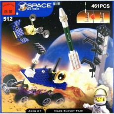 "Конструктор Brick ""Экспедиция на Марс"" 461 дет."