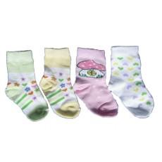 Носки с рисунком для девочки