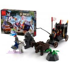 "Конструктор Brick ""Рыцари: Нападение на карету"" 160 дет."