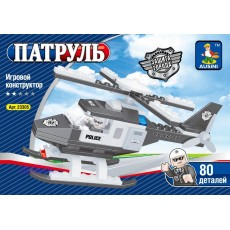 """Конструктор Ausini """"Патруль: Полицейский вертолет"""" 80 дет"""