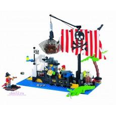 """Конструктор Brick """"Пираты: Затонувший корабль"""" 238 дет"""
