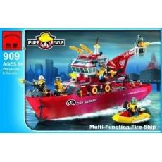 """Конструктор Brick """"Пожарный: Универсальный корабль"""" 359 деталей"""