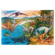 Коврик-пазл Altacto Динозавры PN140P 54 дет
