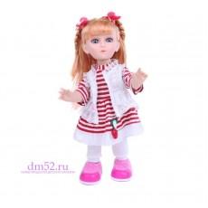 "Интерактив. кукла DollyToy ""Малышка Анютка"""