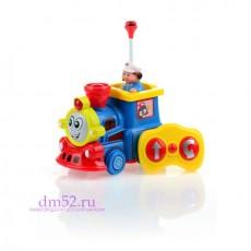 """Развивающая игрушка на р/у Малышарики """"Увлекательное путешествие: паровозик"""""""