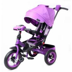 Велосипед 3кол. Leader 360 с разворотным сиденьем,12x10 AIR Car, фиолетовый
