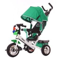 Велосипед 3кол. Comfort 10x8 EVA, зелёный