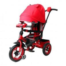 Велосипед 3кол. Leader 360 с разворотным сиденьем,12x10 AIR Car, красный