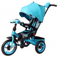 Велосипед 3кол. Leader 360 с разворотным сиденьем,12x10 AIR Car, бирюзовый