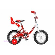 """Велосипед 12"""" Novatrack Maple красный"""