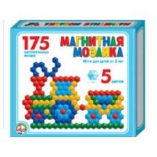Мозаика магнитная 175 шестигранных фишек
