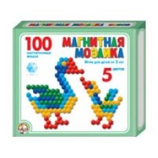 Мозаика магнитная 100 шестигранных фишек