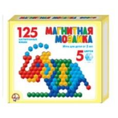 Мозаика магнитная 125 шестигранных фишек