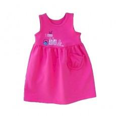 Сарафан для девочки. Розовый