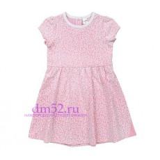 Платье для девочки К 5377/св.лосось весна
