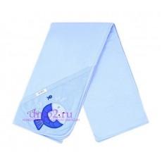 Простынка для купания К 8500/небесно-голубой