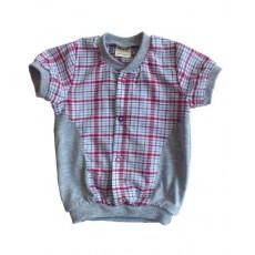 Сорочка с коротким рукавом для мальчика