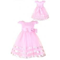 Платье для девочки с органзой