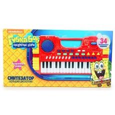 Синтезатор Губка Боб Большая Дискотека 32 клавиши