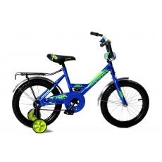 """Велосипед 18"""" Мультяшка XB1801 синий"""