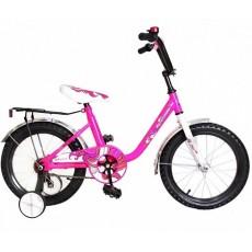 """Велосипед 18"""" Мультяшка XB1803 розовый"""