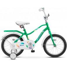 "Велосипед 14"" Stels Wind (9.5"" Зелёный) арт.Z010"