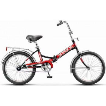 """Велосипед Stels  Pilot-410. 20"""" (13,5"""" Чёрный/красный) арт. Z011"""