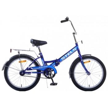 """Велосипед Stels  Pilot-410. 20"""" (13,5"""" Синий) арт. Z011"""