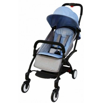 Прогулочная коляска Sweet Baby Mamma Mia Linen Dubai (голубой с серым)
