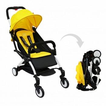 Прогулочная коляска Sweet Baby Mamma Mia Cannes (жёлтый)